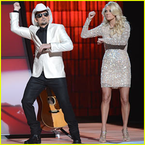 carrie-underwood-brad-paisley-do-gangnam-style