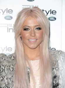 Amelia Lily at InStyle Anniversary