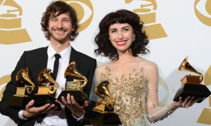 Gotye and Kimbra Grammys 2013