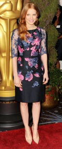 jessica_chastain_erdem_floral_oscars_nomination_luncheon