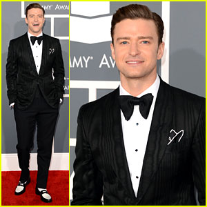 justin-timberlake-grammys-2013-red-carpet