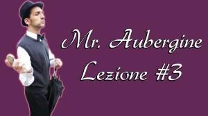 MR AUBERGINE LEZIONE #3